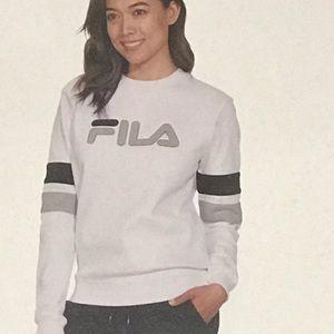 Fila crew neck sweatshirt.